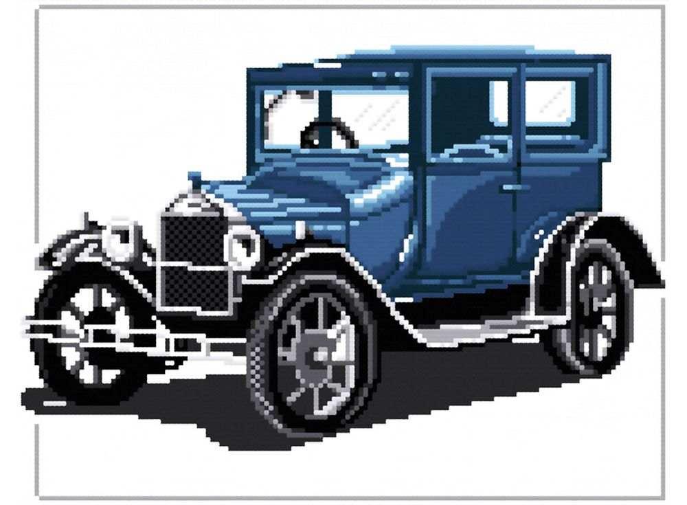 Набор для вышивания «Форд «Т» 1927»Белоснежка<br><br><br>Артикул: B-405<br>Основа: канва Aida 14<br>Сложность: сложные<br>Размер: 30x34 см<br>Техника вышивки: счетный крест<br>Тип схемы вышивки: Цветная схема<br>Количество крестиков: 143x90<br>Цвет канвы: Белый<br>Размер вышитой работы: 26x16,5 см<br>Количество цветов: 12<br>Рисунок на канве: не нанесён<br>Техника: Вышивка крестом