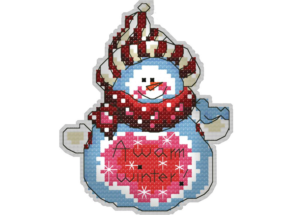 Брелок «Снеговик»Белоснежка<br><br>
