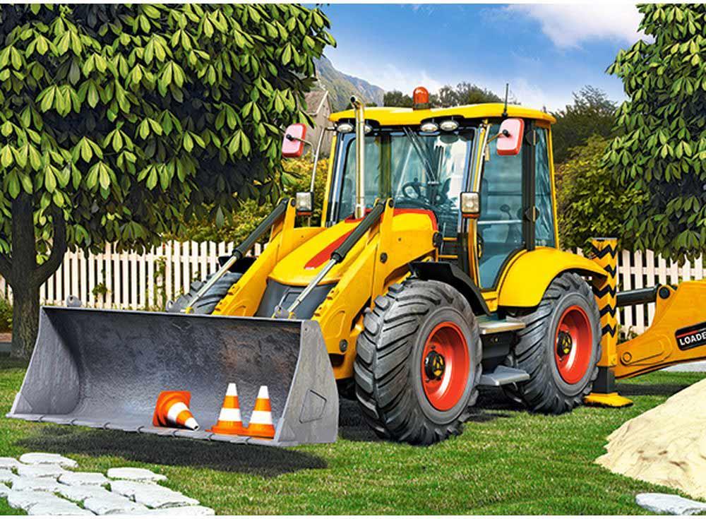 Пазлы «Трактор»Пазлы от производителя Castorland<br><br><br>Артикул: B30064<br>Размер: 40x29 см