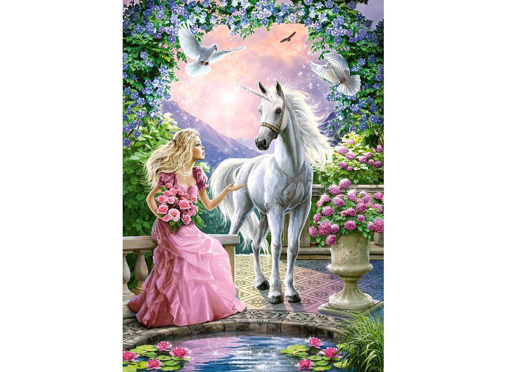 Пазлы «Волшебный сад»Пазлы от производителя Castorland<br><br><br>Артикул: B52127<br>Размер: 47x33 см