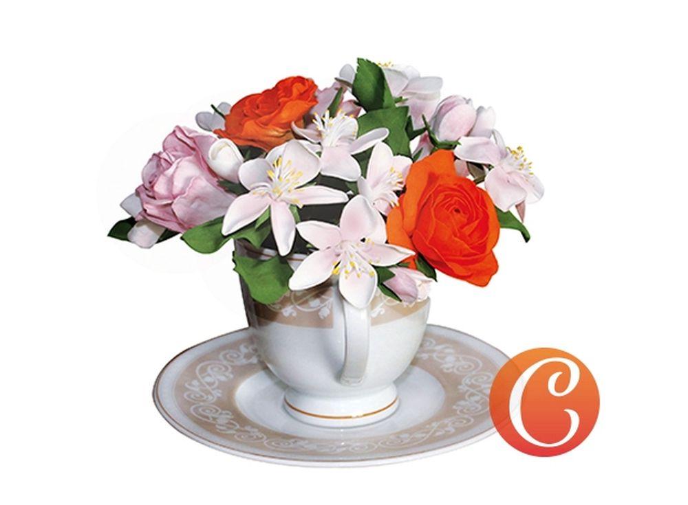 Набор фоамирана «Цветочный микс. Розы и соцветия яблони»Наборы фоамирана<br>Фоамиран - уникальный материал, обладающий пластичностью, запоминающий форму, которую ему придали, на ощупь напоминающий нежную мягкую замшу. Именно из него создают изящные изделия, соперничающие по красоте с настоящими цветами. <br> <br> Наборы фоамирана, ко...<br><br>Артикул: CH.13064<br>Основа: Фоамиран