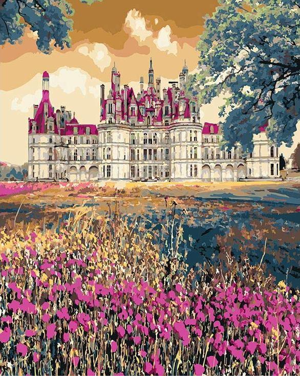 «Сказочный дворец»Paintboy (Premium)<br><br><br>Артикул: GX3287<br>Основа: Холст<br>Сложность: сложные<br>Размер: 40x50<br>Количество цветов: 25<br>Техника рисования: Без смешивания красок