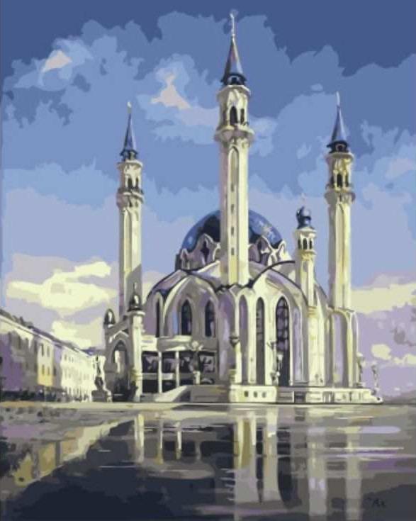 Картина по номерам «Мечеть Кул Шариф»