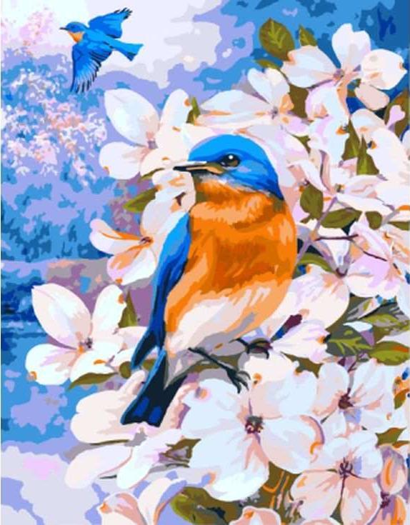 Картина по номерам «Вестники весны» Грега ДжорданоРаскраски по номерам Paintboy (Original)<br><br><br>Артикул: GX8180_R<br>Основа: Холст<br>Сложность: сложные<br>Размер: 40x50 см<br>Количество цветов: 24-30<br>Техника рисования: Без смешивания красок