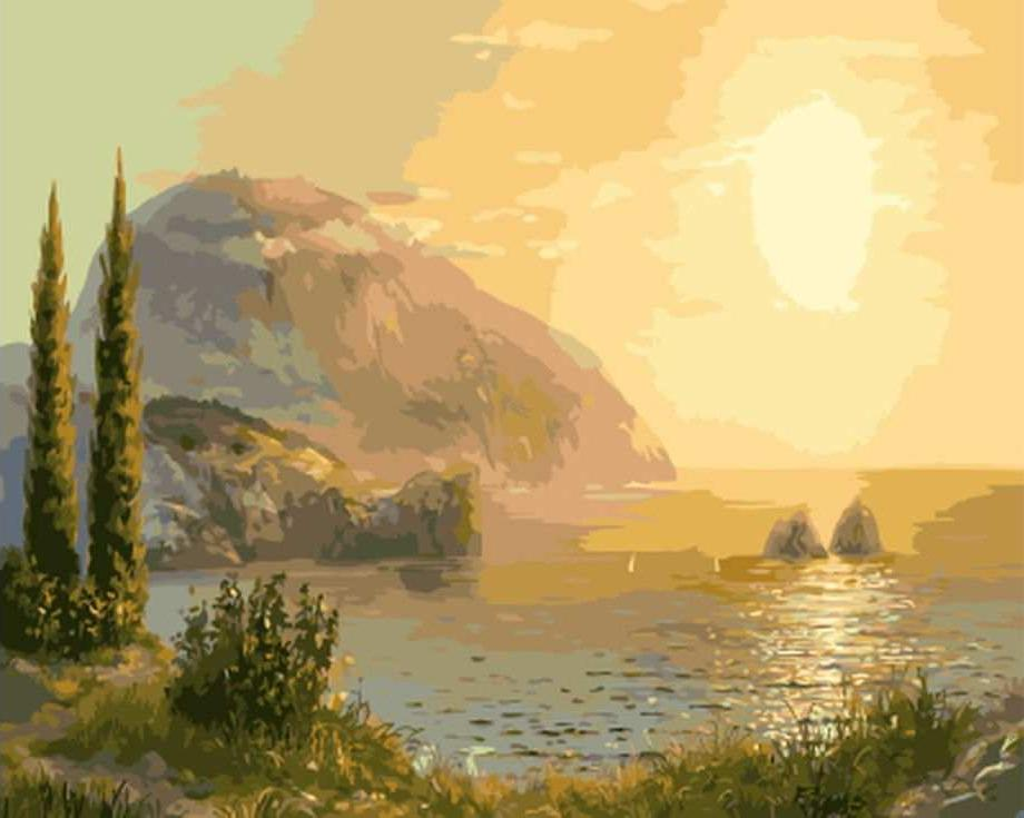 Картина по номерам «Медведь-гора»Molly<br><br><br>Артикул: GX8230_M<br>Основа: Холст<br>Сложность: сложные<br>Размер: 40x50 см<br>Количество цветов: 24<br>Техника рисования: Без смешивания красок