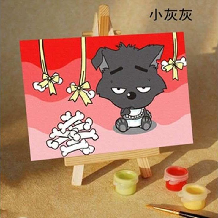 «Грустный кот»Цветной (Standart)<br><br><br>Артикул: MA261_Z<br>Основа: Картон<br>Сложность: средние<br>Размер: 10x15 см<br>Количество цветов: 10<br>Техника рисования: Без смешивания красок