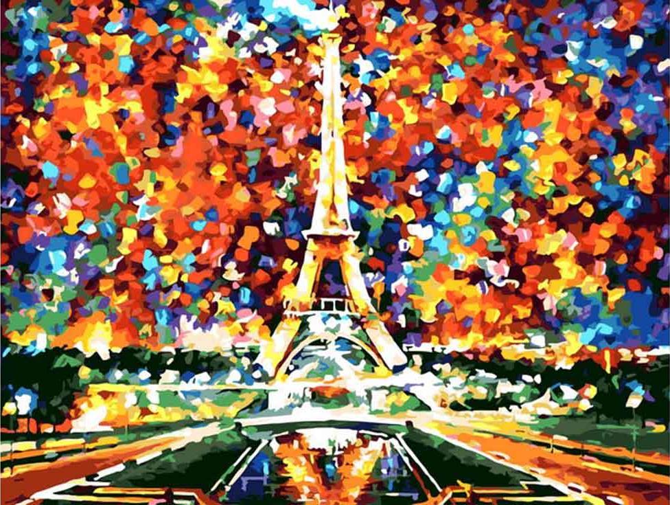 Картина по номерам «Париж. Моя мечта» Леонида АфремоваPaintboy (Premium)<br><br><br>Артикул: GX6386<br>Основа: Холст<br>Сложность: сложные<br>Размер: 40x50 см<br>Количество цветов: 25<br>Техника рисования: Без смешивания красок