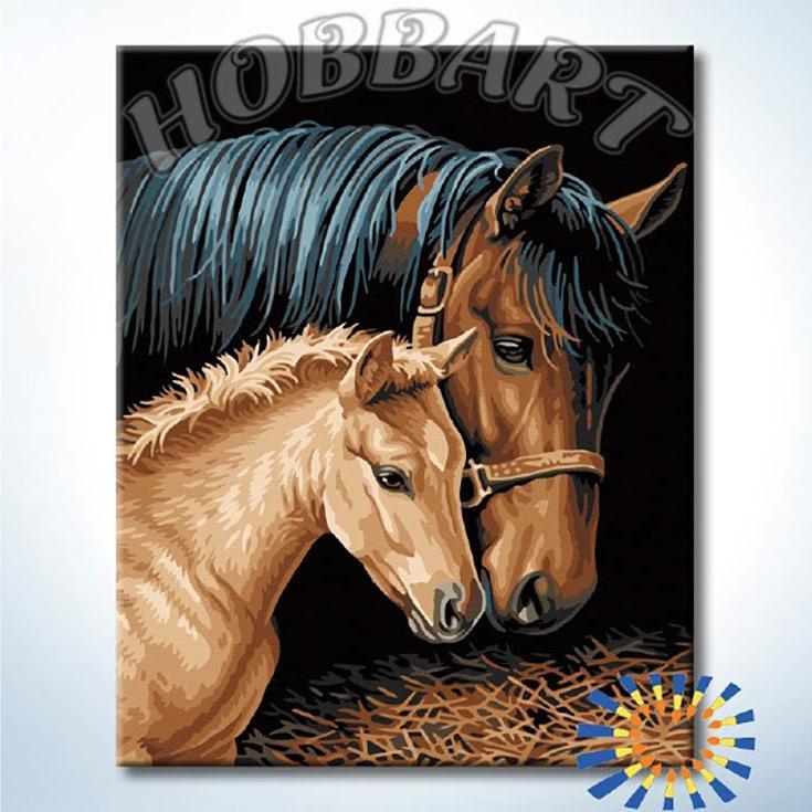 Картина по номерам «Заботливая»Hobbart<br><br><br>Артикул: НВ4050345<br>Основа: Холст<br>Сложность: средние<br>Размер: 40x50 см<br>Количество цветов: 17<br>Техника рисования: Без смешивания красок