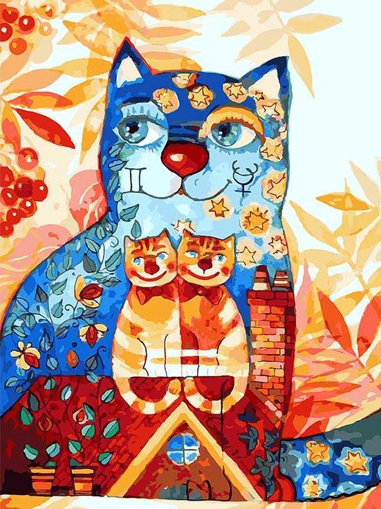 Картина по номерам «Близнецы» Оксаны ЗаикиКартины по номерам Белоснежка<br><br><br>Артикул: 014-AS<br>Основа: Холст<br>Сложность: очень сложные<br>Размер: 30x40 см<br>Количество цветов: 30<br>Техника рисования: Без смешивания красок