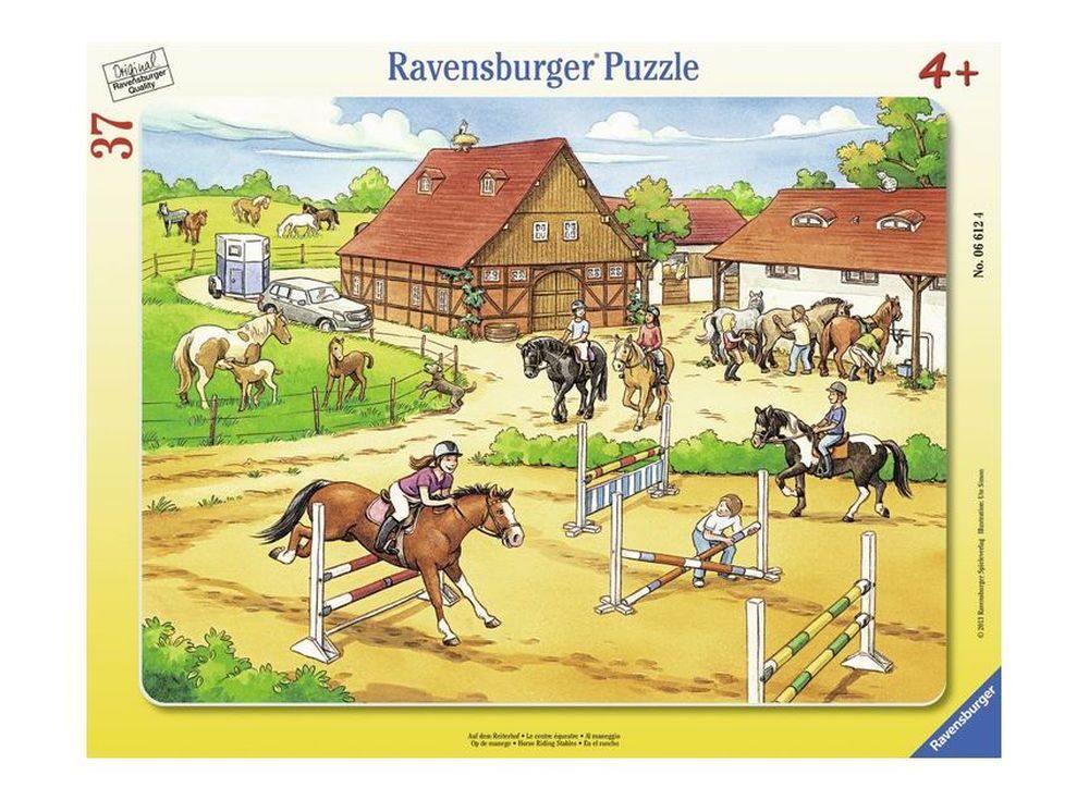 Пазлы «Верховая езда»Ravensburger<br><br><br>Артикул: 6612<br>Размер: 32,5x24,5 см