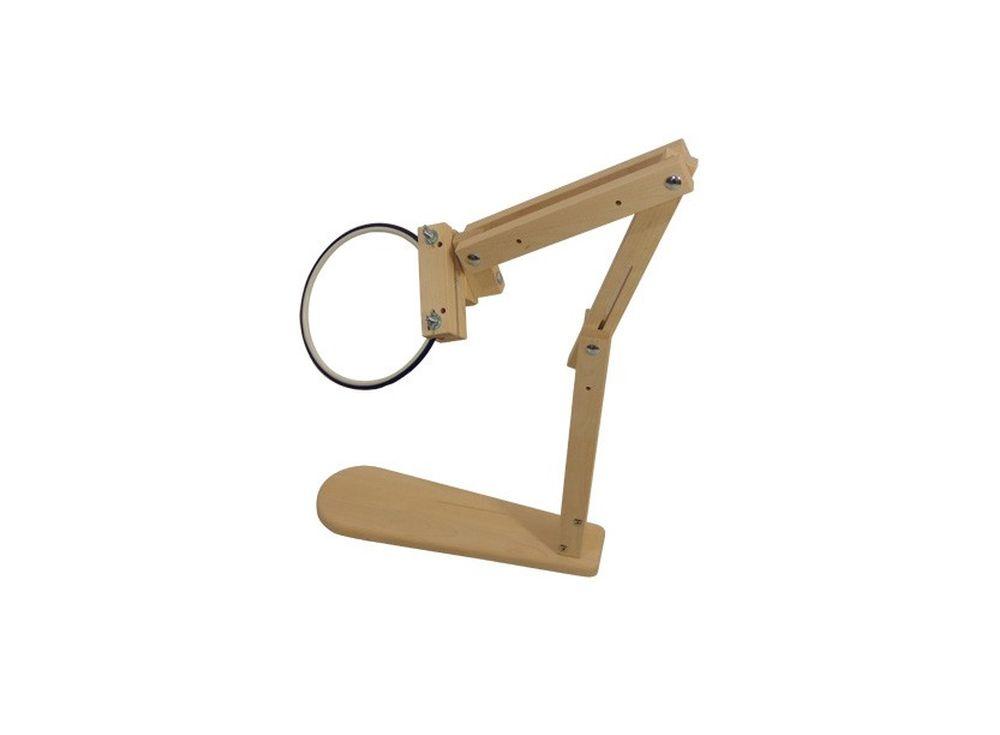 Держатель для пялец кресельныйАксессуары для вышивки<br><br><br>Артикул: 1011<br>Размер: 55(85)x20 см<br>Вес: 2,5 кг<br>Материал: Берёза