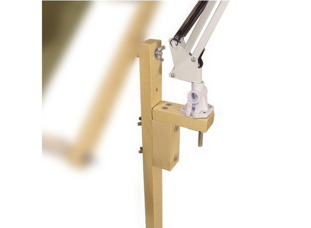 Кронштейн для светильника или линзыАксессуары для вышивки<br><br><br>Артикул: 1046<br>Размер: 11x8 см<br>Материал: Берёза