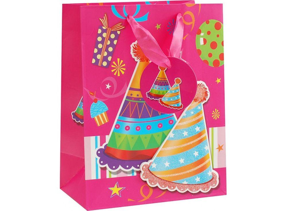Подарочный пакет «Твой день»Подарочные пакеты<br><br><br>Артикул: 1083-SB<br>Размер: 18x10x23 см