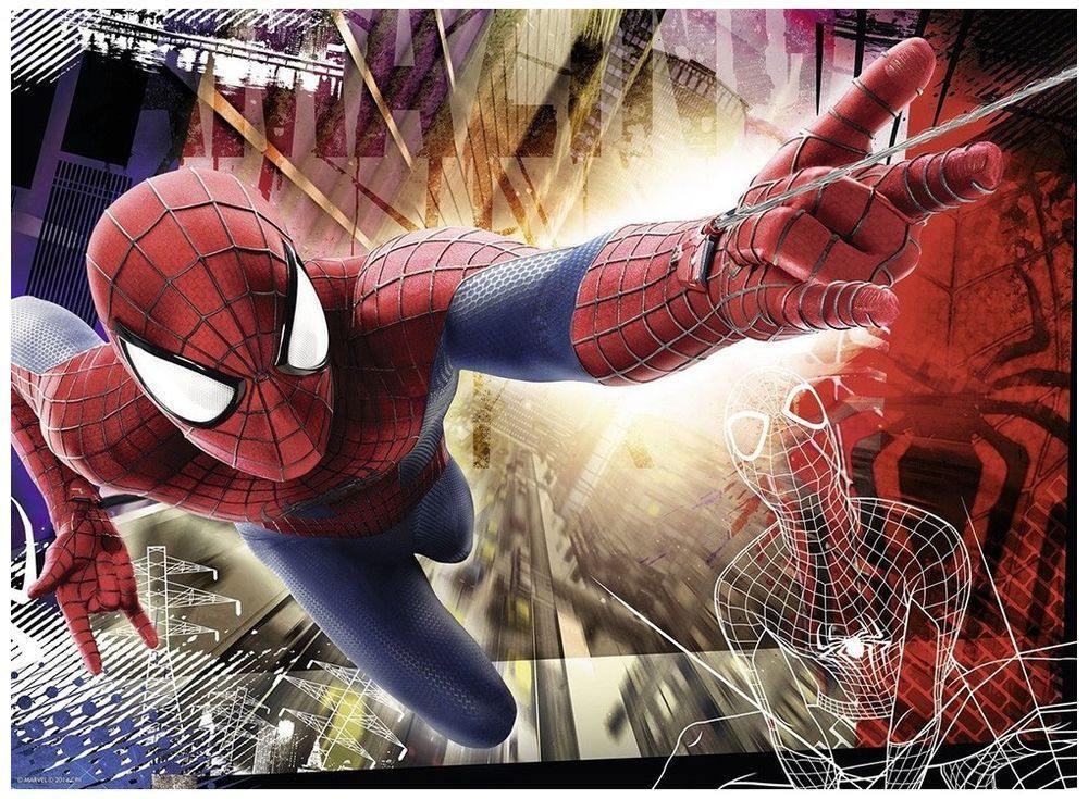 Пазлы «Человек-паук»Ravensburger<br><br><br>Артикул: 12685<br>Размер: 49x36 см