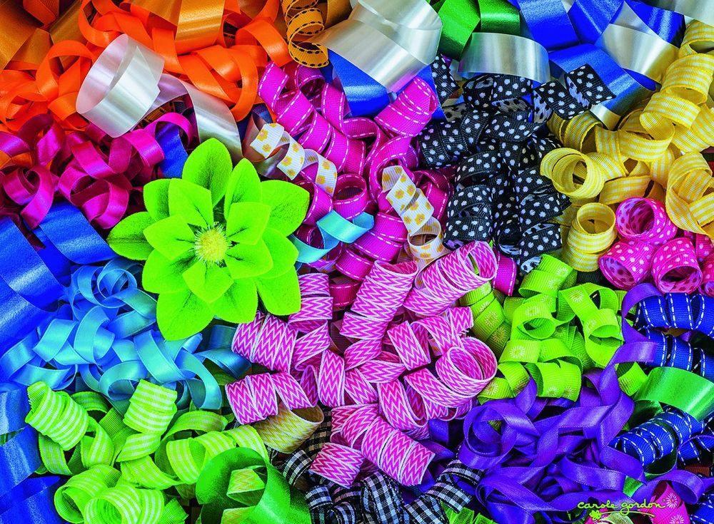 Пазлы «Цветные ленты» - Пазлы