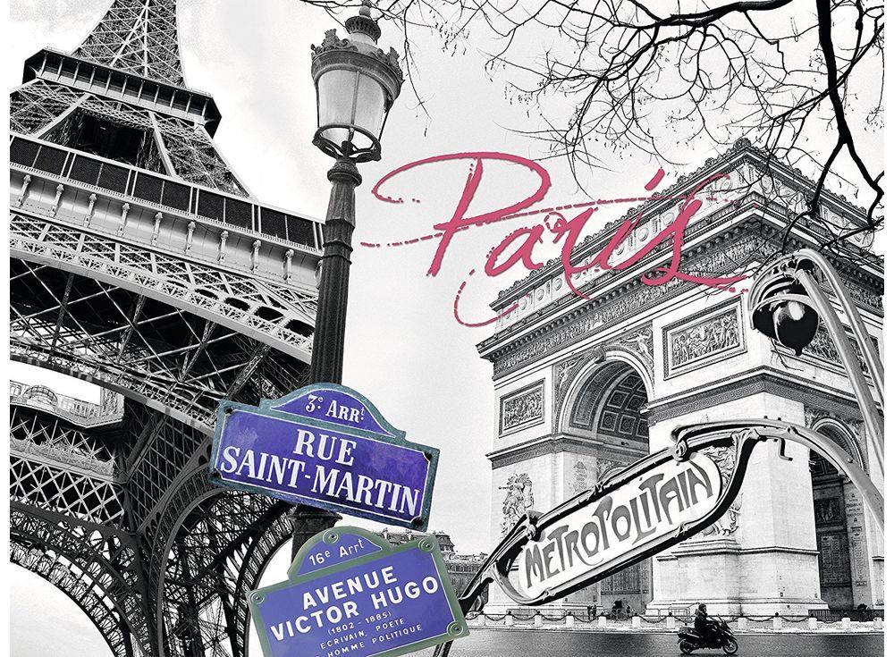 Пазлы «Мой Париж»Ravensburger<br><br><br>Артикул: 16296<br>Размер: 80x60 см