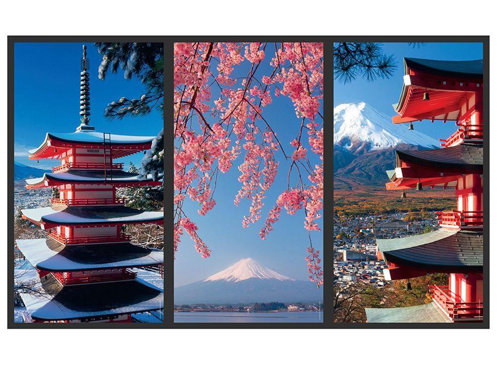 Набор пазлов «Тихая Япония»Ravensburger<br><br><br>Артикул: 16315<br>Размер: 80x60 см