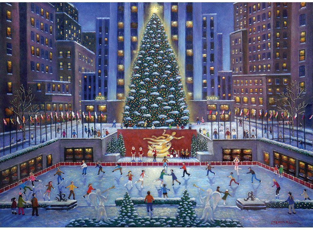 Пазлы «Рождество»Ravensburger<br><br><br>Артикул: 19336<br>Размер: 50x70 см