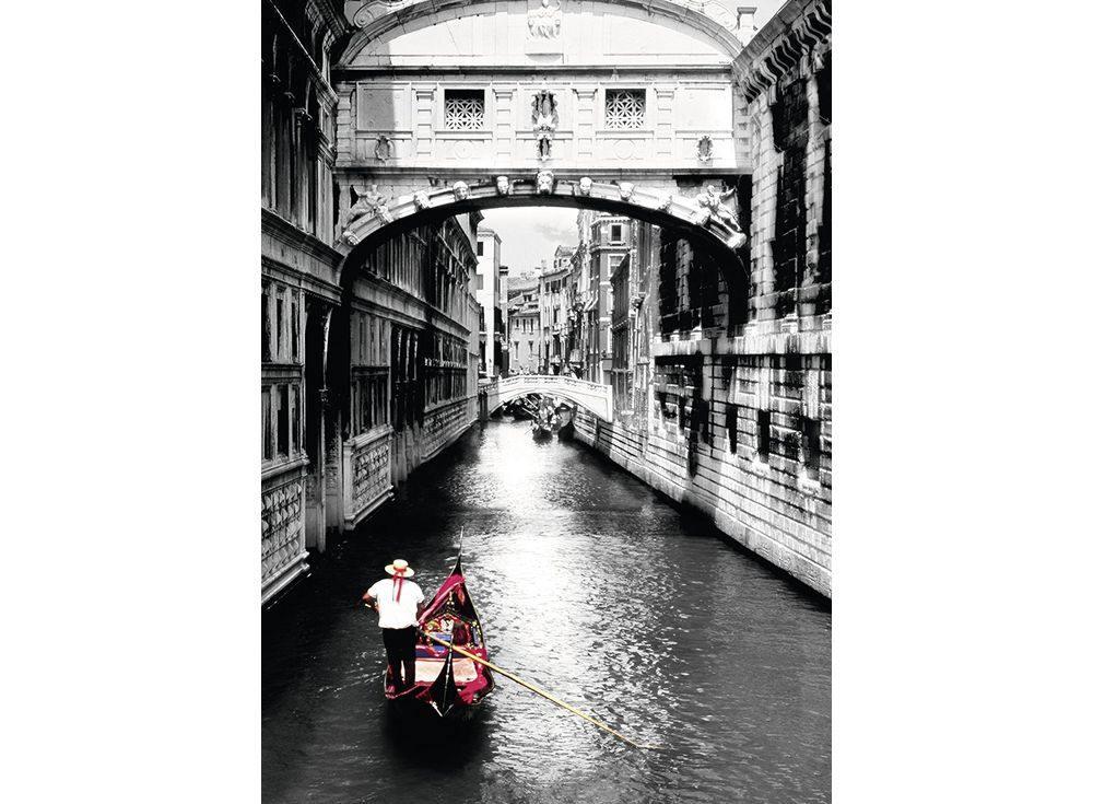 Пазлы «Гранд-канал, Венеция»Ravensburger<br><br><br>Артикул: 19472<br>Размер: 50x70 см