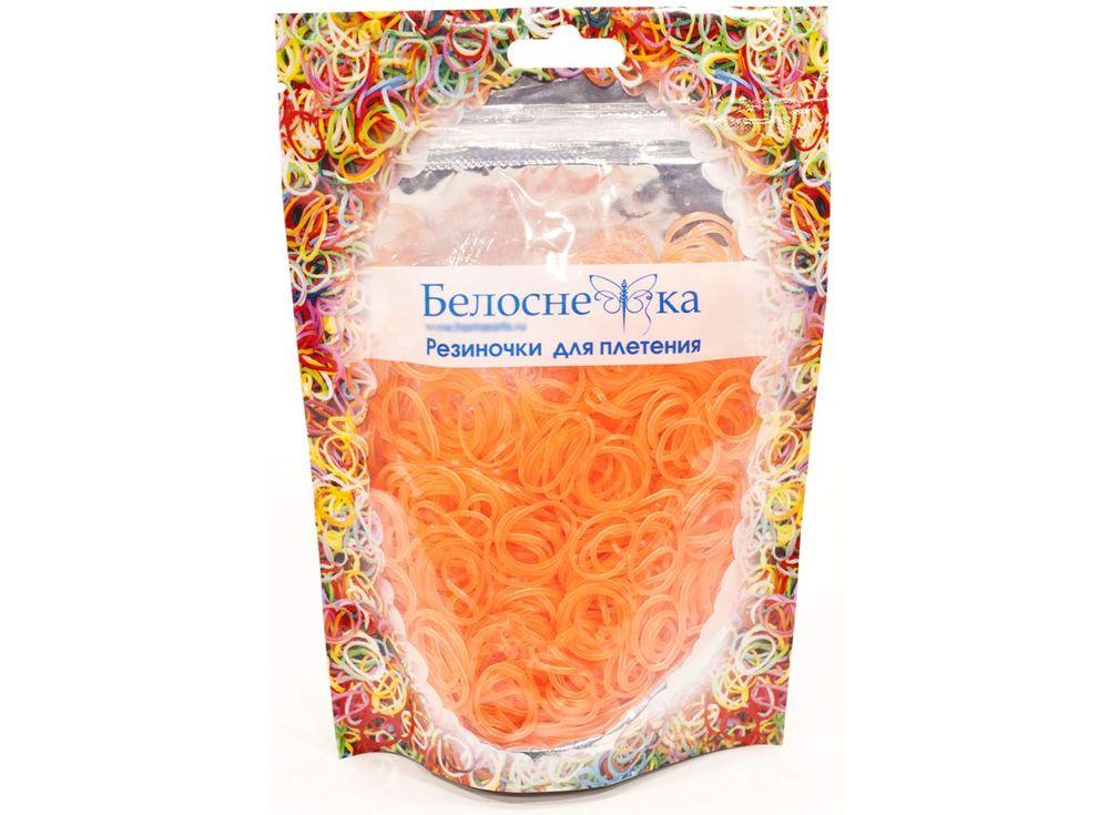 Резиночки для плетения неоновыеРезинки для плетения<br><br><br>Артикул: 280-RB<br>Цвет: Неоновый персиковый