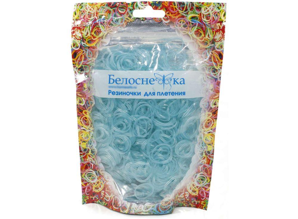 Резиночки для плетения неоновыеРезинки для плетения<br><br><br>Артикул: 286-RB<br>Цвет: Неоновый бирюзовый