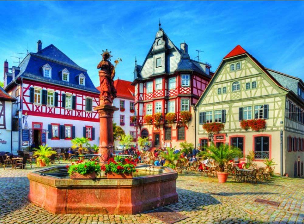 Пазлы «Рыночная площадь,Хеппенхайм, Германия»Trefl<br>Пазл - игра-головоломка, мозаика, состоящая из множества фрагментов, различающихся по форме.<br> По мнению психологов, игра в пазлы способствует развитию логического мышления, внимания, воображения и памяти. Пазлы хороши для всех возрастов - и ребенка-дошко...<br><br>Артикул: 33052<br>Размер: 116x85 см