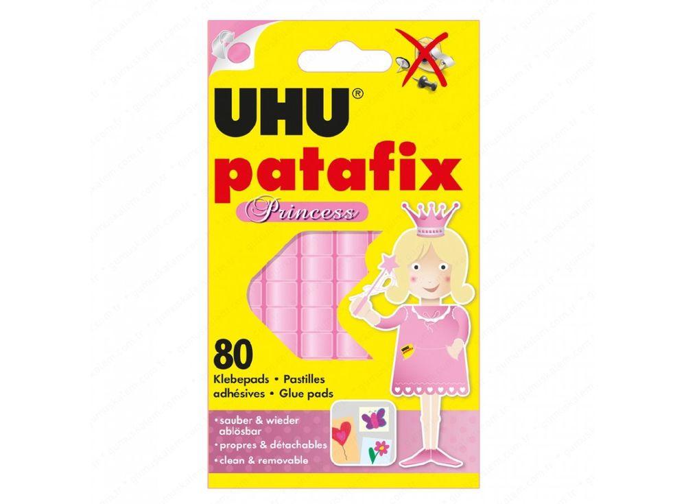 Клеящие подушечки UHU Patafix Princess (розовые)Клей для рукоделия<br><br><br>Артикул: 41710<br>Количество: 80 шт.