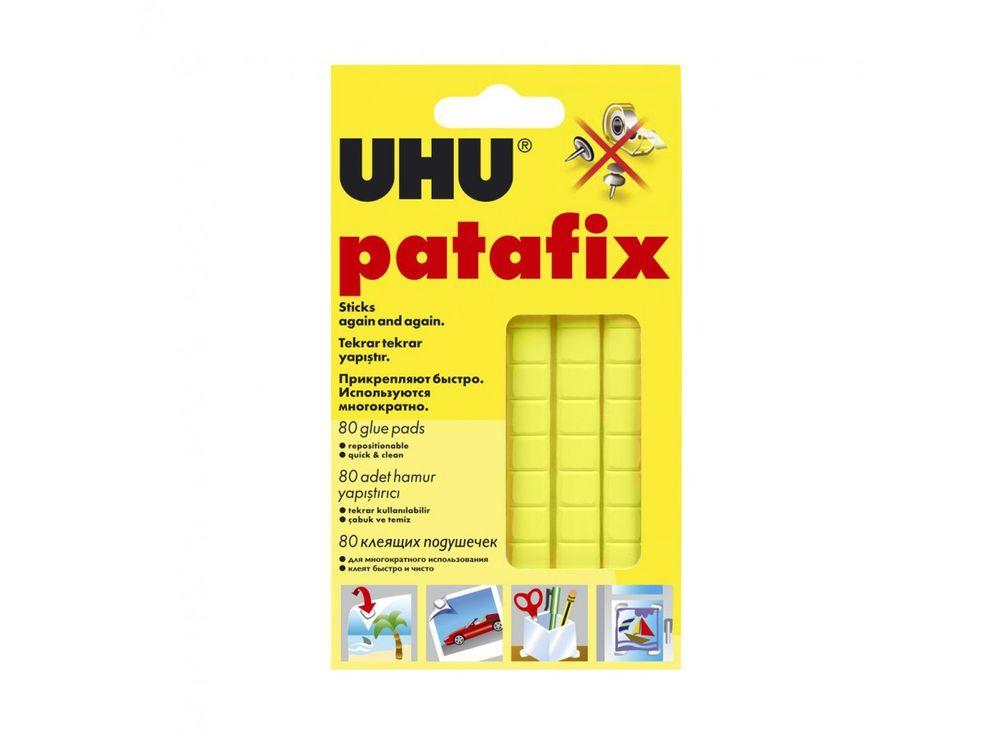 Клеящие подушечки UHU Tac Patafix (желтые)Клей для рукоделия<br><br>