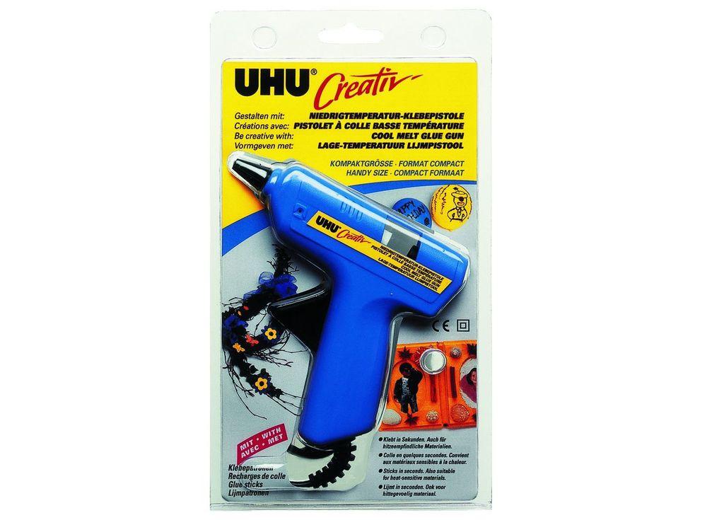 Клеевой термопистолет UHU CreativКлей для рукоделия<br><br><br>Артикул: 47360