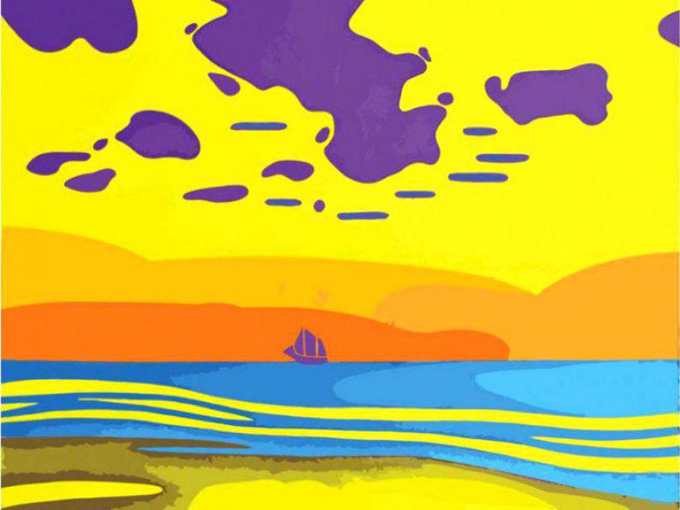 Картина по номерам «Тяжелые облака» Романа ИсаеваКартины по номерам Белоснежка<br><br><br>Артикул: 716-AS<br>Основа: Холст<br>Сложность: легкие<br>Размер: 30x40 см<br>Количество цветов: 10-15<br>Техника рисования: Без смешивания красок