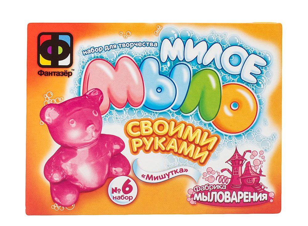 Милое мыло «Мишутка»Мыло своими руками<br><br><br>Артикул: 980106<br>Размер упаковки: 11x14,5x5 см<br>Возраст: от 3 лет