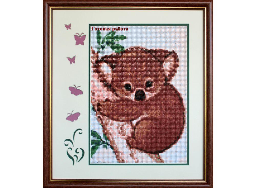 Алмазная вышивка коала 384