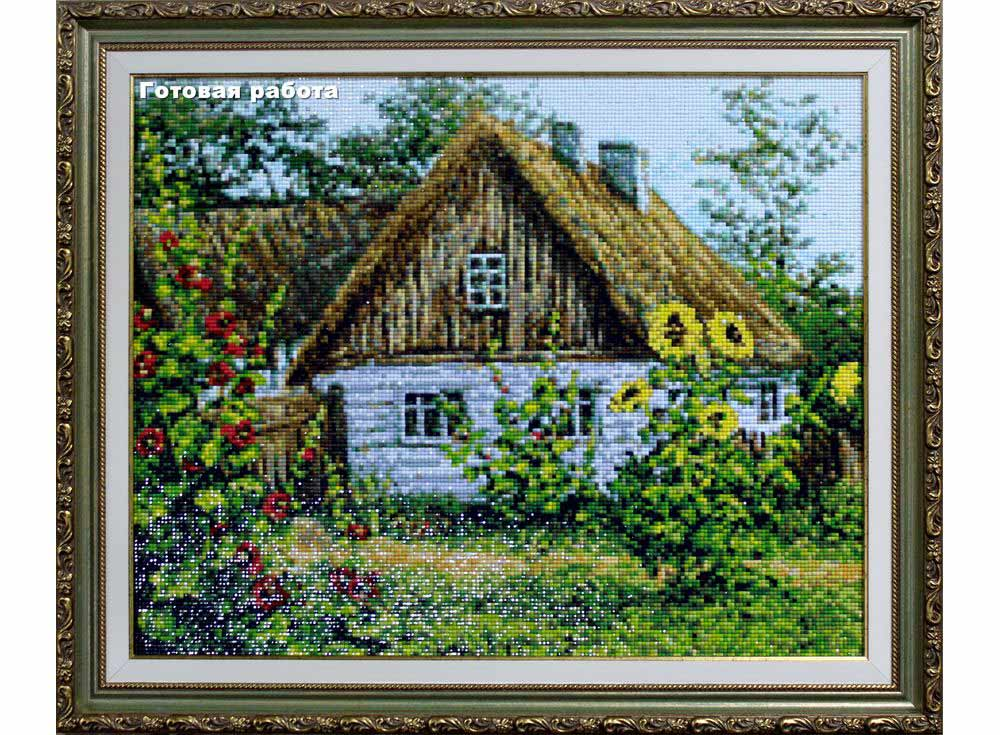 Моя деревня вышивка лето 672