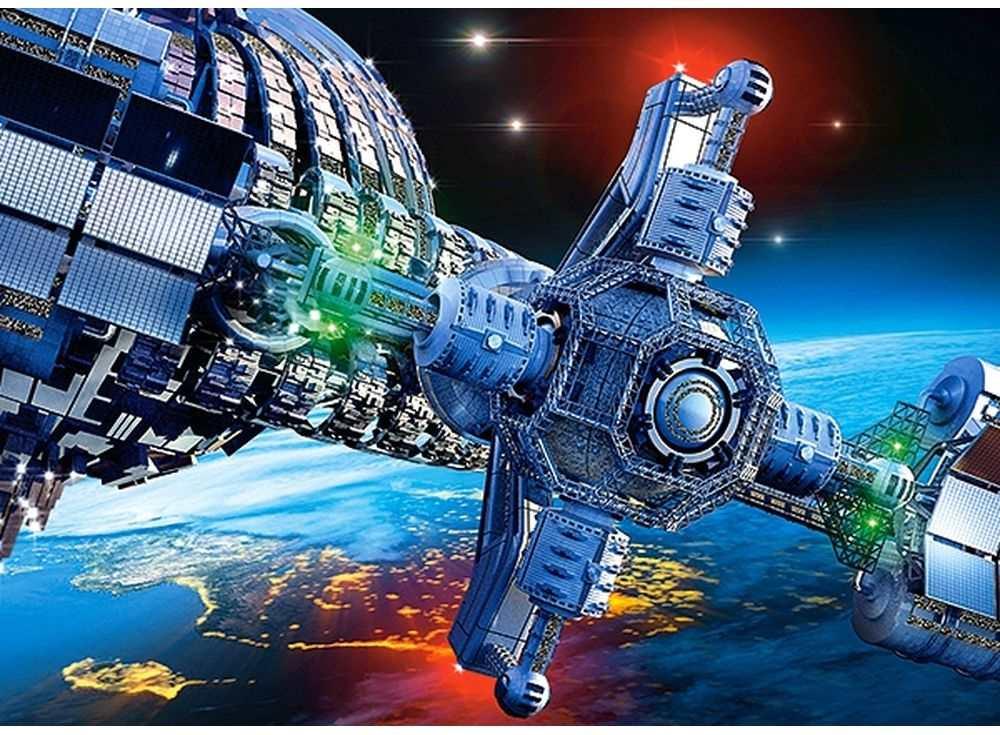 Пазлы «Космический корабль»Пазлы от производителя Castorland<br><br><br>Артикул: B27408<br>Размер: 32x23 см