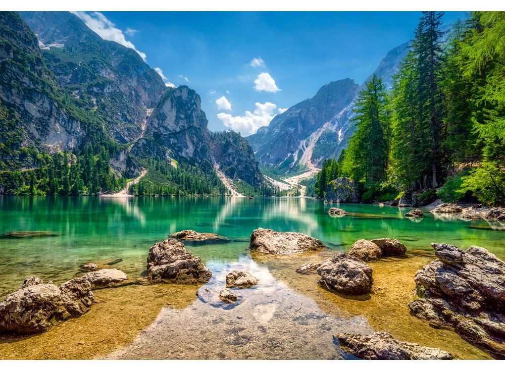 Пазлы «Небесное озеро»Пазлы от производителя Castorland<br><br><br>Артикул: C103416<br>Размер: 68x47 см