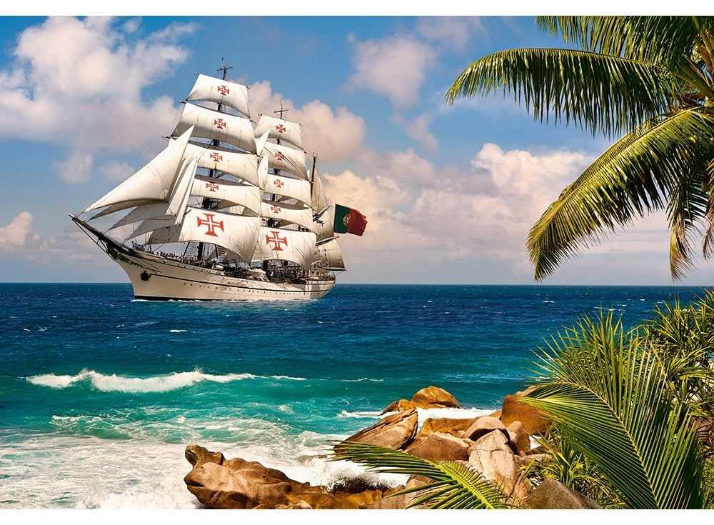 Пазлы «Тропические широты»Пазлы от производителя Castorland<br><br><br>Артикул: C103430<br>Размер: 68x47 см