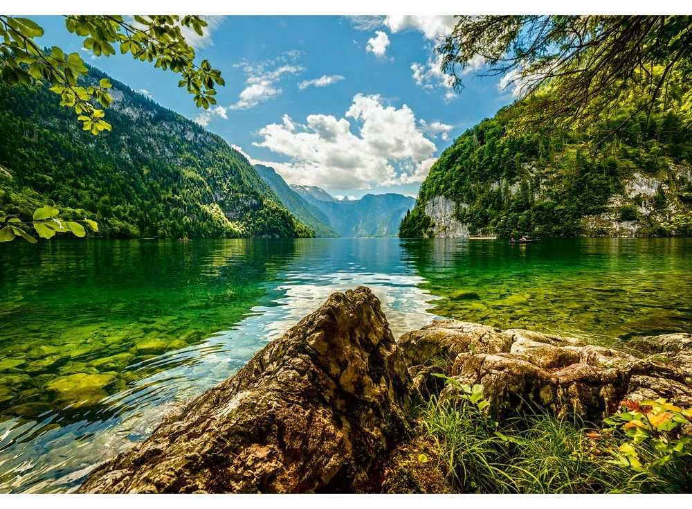 Пазлы «Озеро в Германии»Пазлы от производителя Castorland<br><br><br>Артикул: C151417<br>Размер: 68x47 см