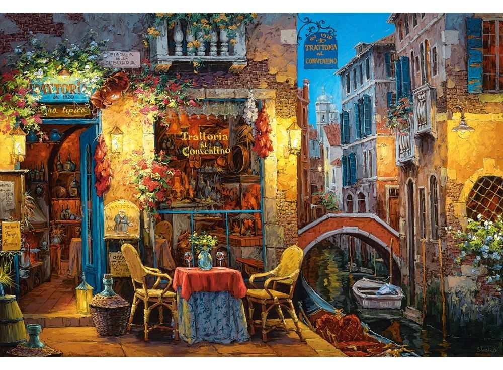 Пазлы «Уголок Венеции»Пазлы от производителя Castorland<br><br><br>Артикул: C300426<br>Размер: 92x68 см