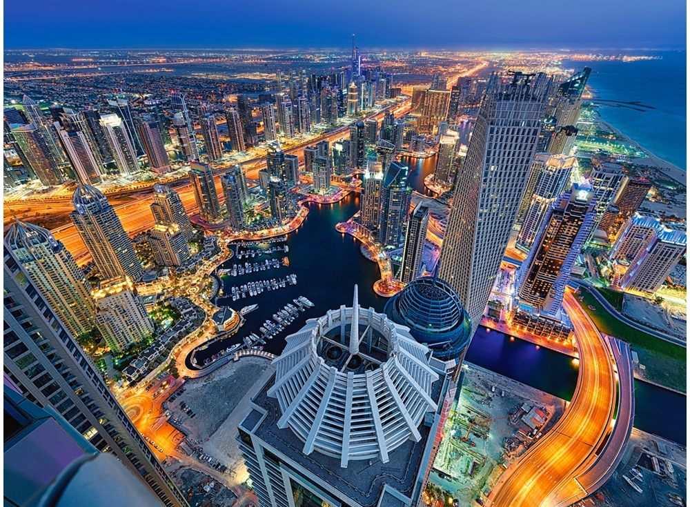 Пазлы «Дубаи»Пазлы от производителя Castorland<br><br><br>Артикул: C300457<br>Размер: 92x68 см