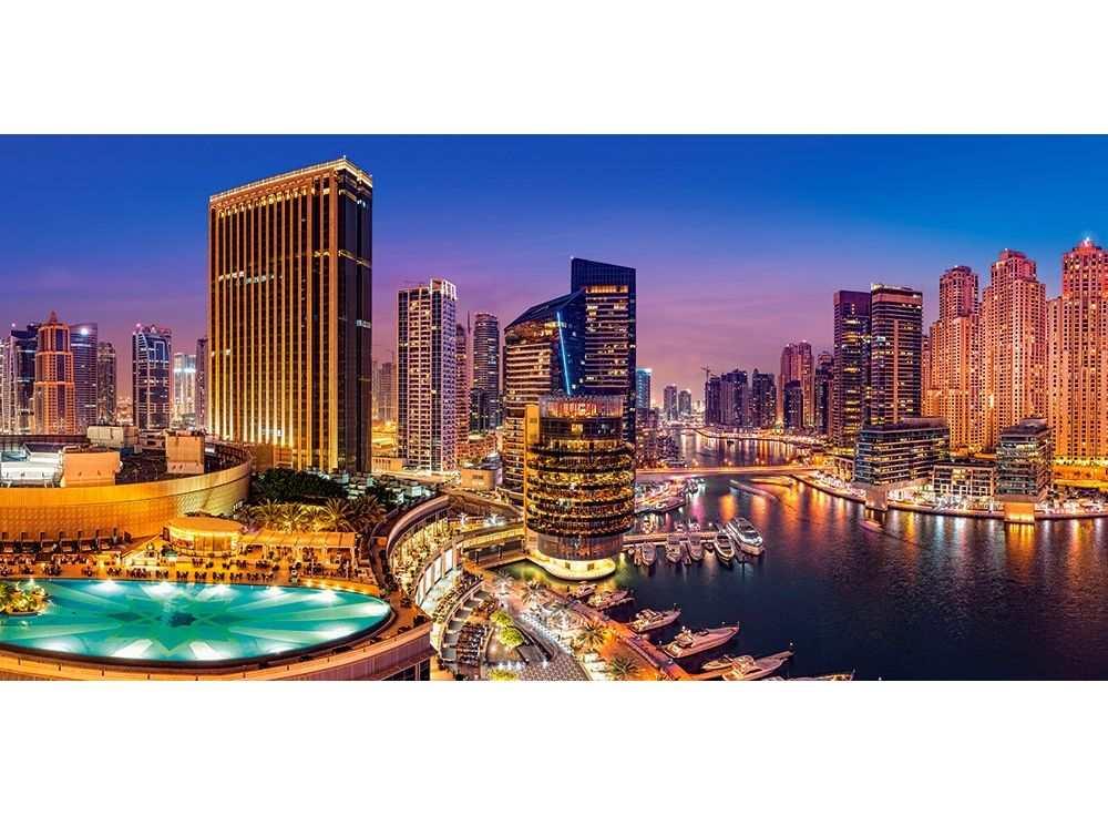 Пазлы «Дубай»Пазлы от производителя Castorland<br><br><br>Артикул: C400195<br>Размер: 92x68 см