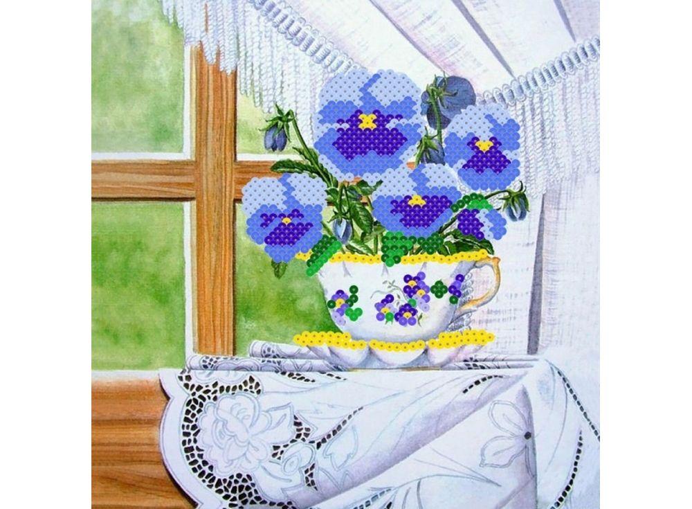 Мозаика из пайеток «Анютины глазки»Мозаика из пайеток<br><br><br>Артикул: CMD003<br>Размер: 30x30 см<br>Количество цветов: 6<br>Возраст: от 8 лет