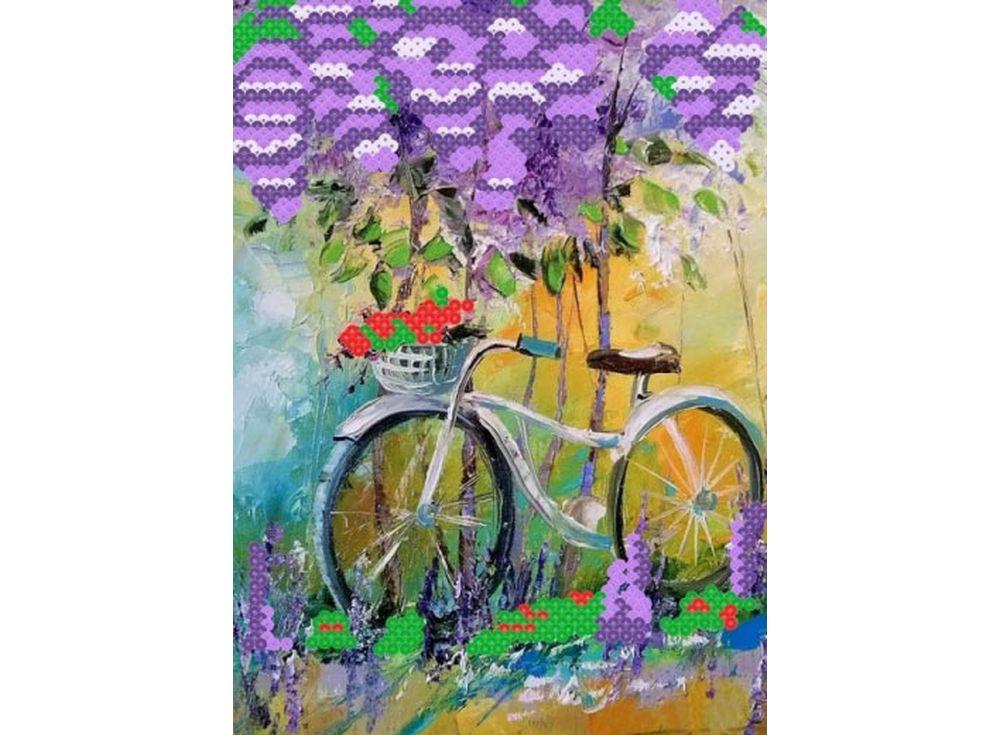 Мозаика из пайеток «Под сиренью»Мозаика из пайеток<br><br><br>Артикул: CME001<br>Размер: 30x40 см<br>Количество цветов: 5
