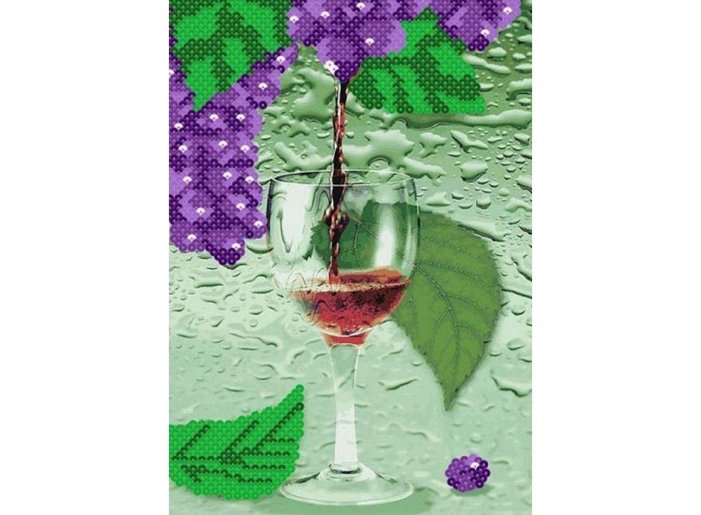 Мозаика из пайеток «Виноградный сок»Мозаика из пайеток<br><br><br>Артикул: CME003<br>Размер: 30x40 см<br>Количество цветов: 6<br>Возраст: от 8 лет