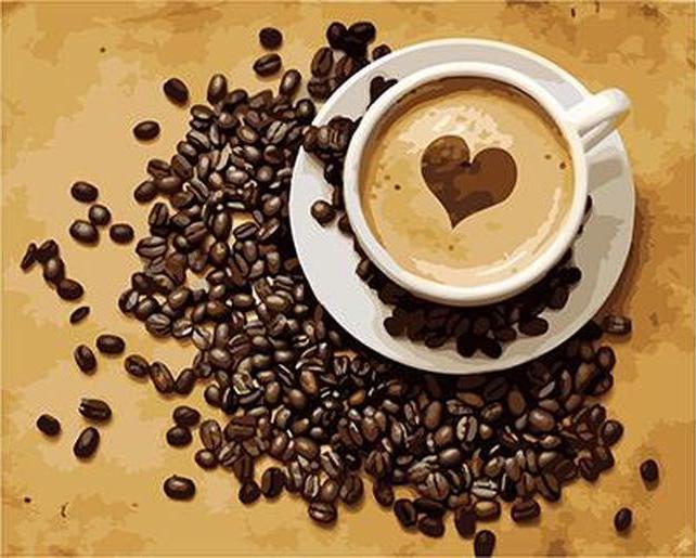 «Кофе для нее»Paintboy (Premium)<br><br><br>Артикул: GX3652<br>Основа: Холст<br>Сложность: сложные<br>Размер: 40x50 см<br>Количество цветов: 25<br>Техника рисования: Без смешивания красок