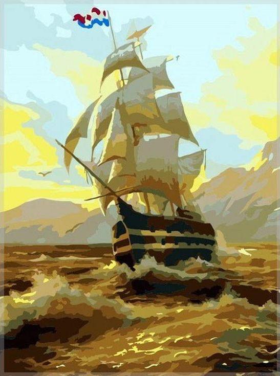 «Рассвет на море» Игоря ОноприенкоPaintboy (Premium)<br><br><br>Артикул: GX7278<br>Основа: Холст<br>Сложность: средние<br>Размер: 40x50<br>Количество цветов: 22<br>Техника рисования: Без смешивания красок