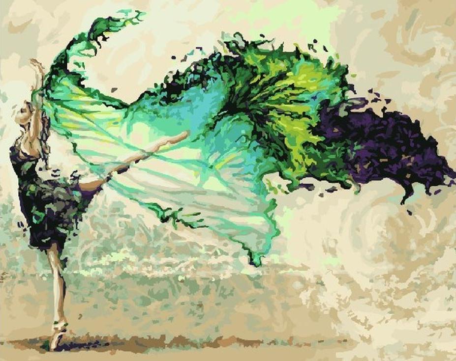 Картина по номерам «Как воздух» Карины СалтоPaintboy (Premium)<br><br><br>Артикул: GX9470<br>Основа: Холст<br>Сложность: сложные<br>Размер: 40x50 см<br>Количество цветов: 28<br>Техника рисования: Без смешивания красок
