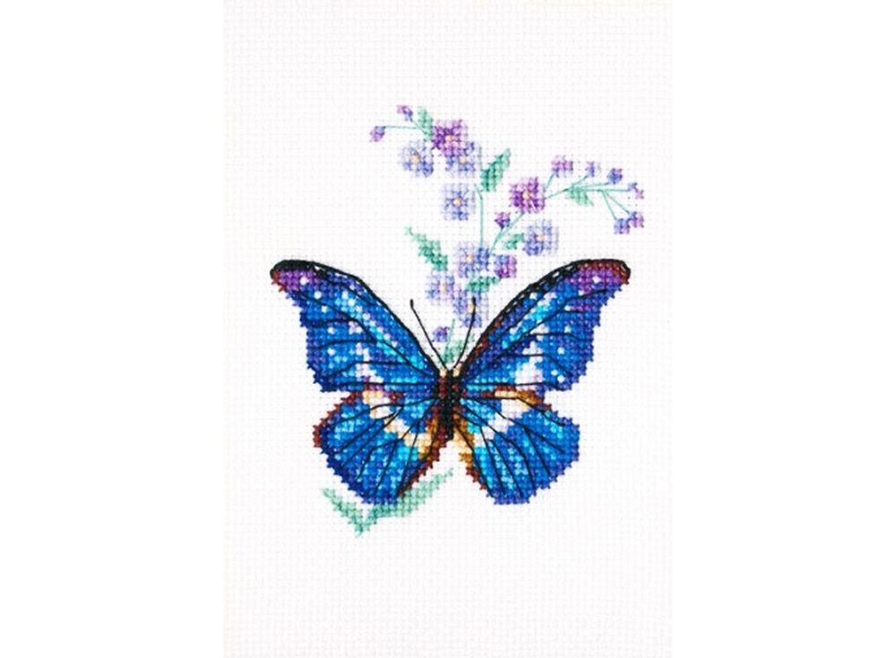 Набор дл вышивани «Синха и бабочка»RTO<br><br><br>Артикул: ЕН364<br>Основа: канва Aida 16<br>Сложность: легкие<br>Размер: 8,5x9,5 см<br>Техника вышивки: счетный крест<br>Тип схемы вышивки: Символьна схема<br>Цвет канвы: Белый<br>Количество клеток на см: 63 клетки на 10 см<br>Заполнение: Частичное<br>Рисунок на канве: не нанесён<br>Техника: Вышивка крестом