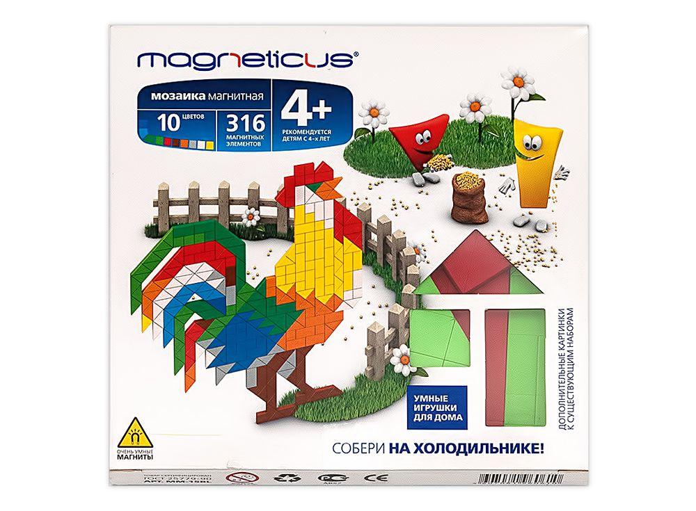 Магнитная мозаика «Ферма»Магнитные наборы<br><br><br>Артикул: МС-002<br>Возраст: от 4 лет