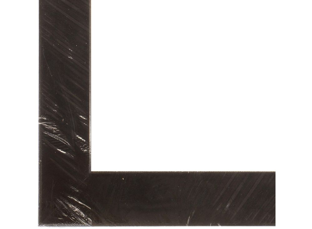 Рамка без стекла для картин «Unona»Багетные рамки<br>Для картин на холсте на подрамнике, на картоне, алмазной вышивки на подрамнике.<br><br>Артикул: ТР 1001 БС<br>Размер: 30x40 см<br>Цвет: Черный глянец<br>Материал багета: Дерево