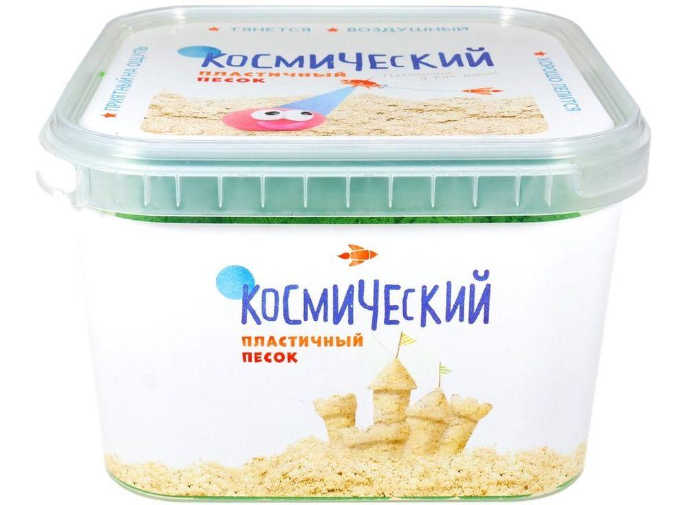 Космический песок 3 кг, зеленый — Умный песокКосмический песок<br><br><br>Артикул: 714-300<br>Вес: 3,14 кг<br>Цвет: Зеленый<br>Размер упаковки: 20x20x13,5 см